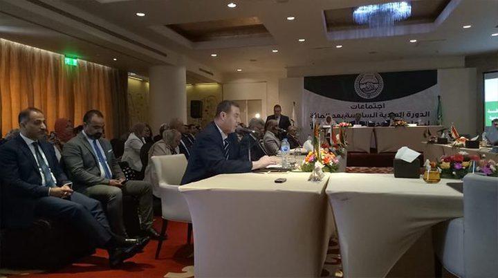 اللوح يطالب الدول العربية بفتح أسواقها أمام المنتجات الفلسطينية