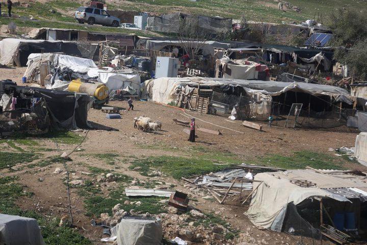 النتشة: الخان الأحمر معركة كل الفلسطينيين