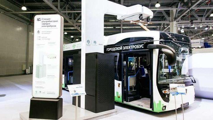 """موسكو تتسلم حافلات كهربائية من شركة """"كاماز"""""""