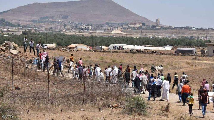 نزوح آلاف السوريين من ريف درعا