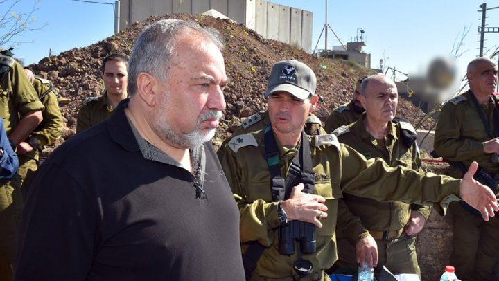 ليبرمان يهدد الجنود السوريين