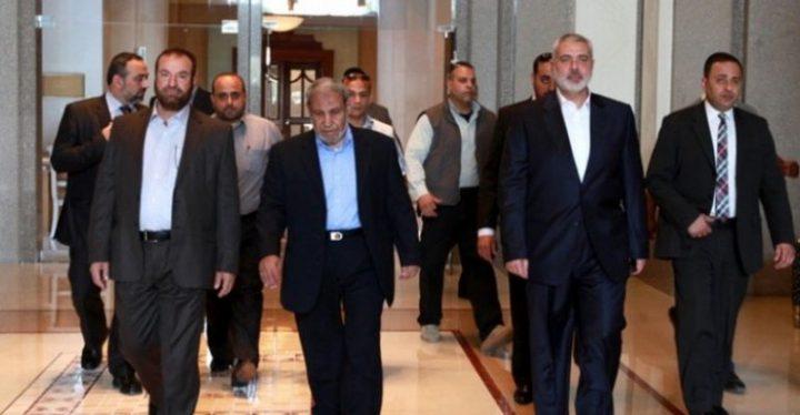 حماس تقبل الدعوة المصرية للحوار