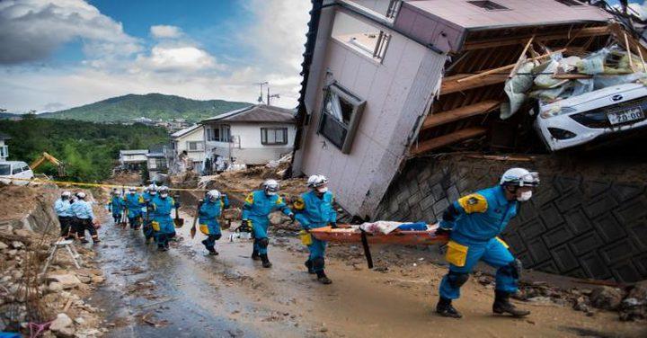 الحكومة تعزي اليابان بضحايا الفيضانات والانزلاقات الأرضية