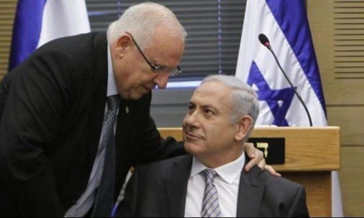 """الرئيس الإسرائيلي يتحفظ على قانون """"القومية"""""""