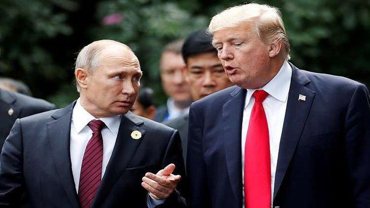 ترامب: الحديث مع بوتين قد يكون أسهل منه مع ماي