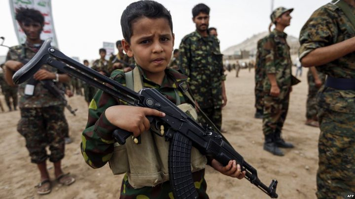 الأمم المتحدة: تجنيد نحو 840 طفلا يمنيا في عام 2017
