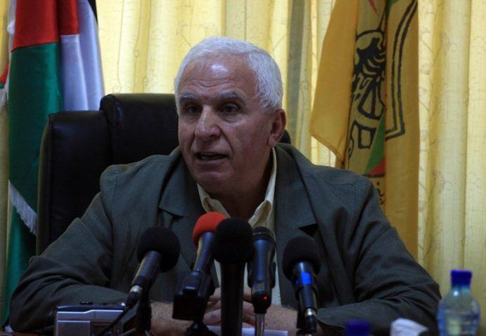 الأحمد يطلع مسؤولا سوريا على الأوضاع السياسية في ظل استمرار الاعتداءات الإسرائيلية