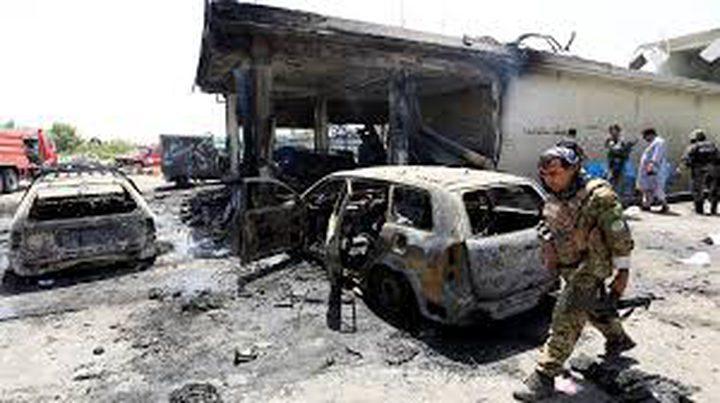 عشرة قتلى في هجوم انتحاري على قوات الأمن الافغانية