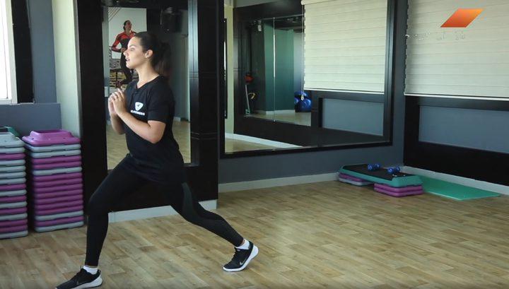 حركات خاصة لشد العضلات و التخلص من الترهلات والدهون (فيديو)