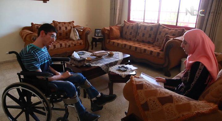 كريم المصري .. نجح بما لم يستطع فعله الأصحاء (تقرير مصور)