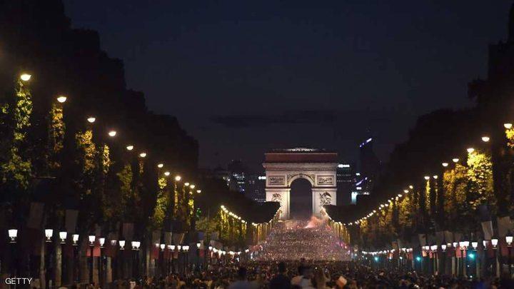 احتفالات حاشدة في فرنسا بالتأهل لنهائي المونديال