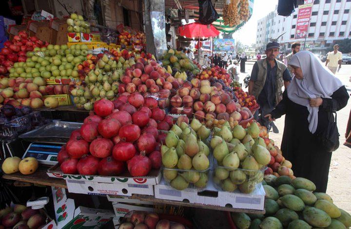 غزة: الزراعة تقرر منع استيراد الفواكه الاسرائيلية