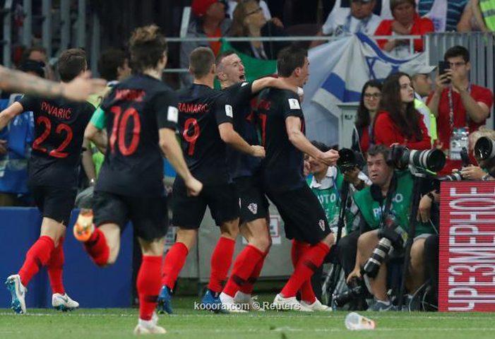 كرواتيا لنهائي كأس العالم لمقابلة فرنسا