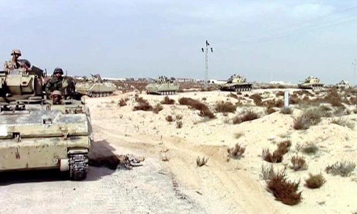 مقتل 11 إرهابياً في سيناء