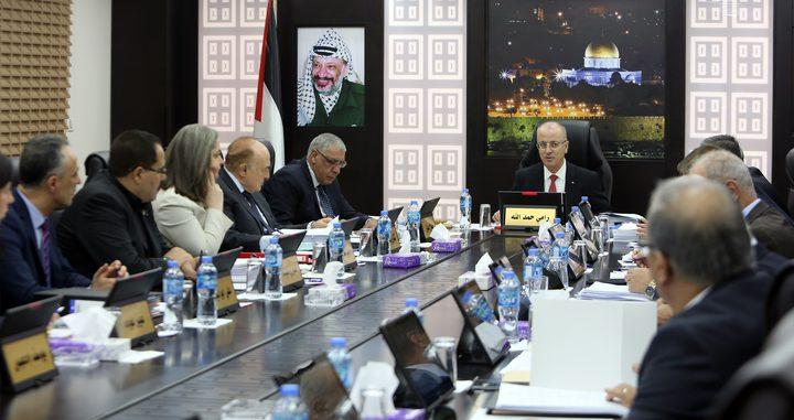 مجلس الوزراء: نرفض أي صفقة لا تلبي حقوق شعبنا