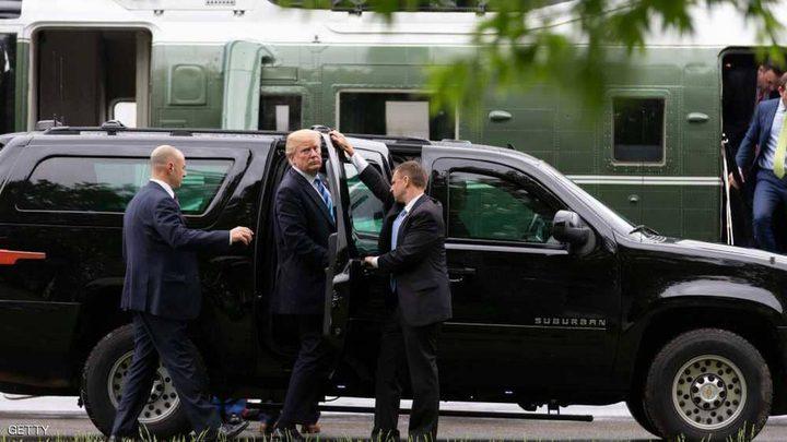 سيارات البيت الأبيض تسبق ترامب إلى اسكتلندا