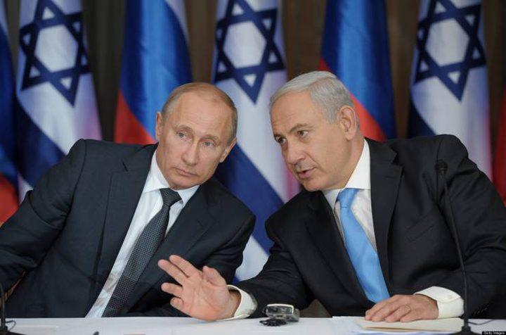 نتنياهو يطالب موسكو بإخراج إيران من سوريا
