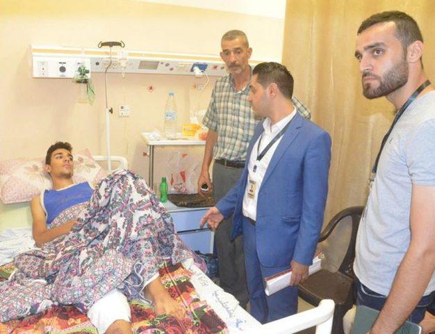 إهمال طبي إسرائيلي أدى لبتر قدم طفل من غزة