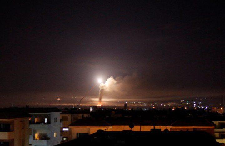 سوريا تعلن تصدي دفاعاتها لهجوم اسرائيلي