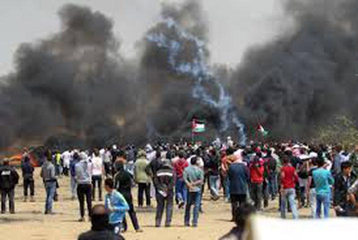 نجاة مواطنين من صاروخ إسرائيلي شمال غزة