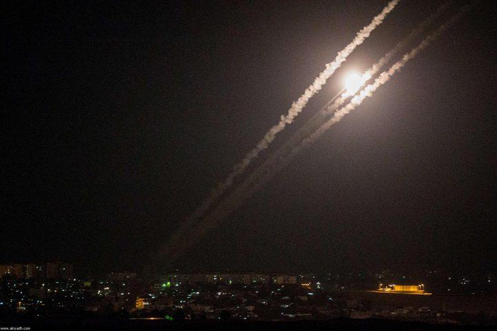 المقاومة تطلق عدة صواريخ وصفارات الانذار تدوي