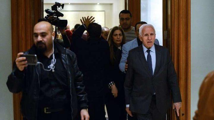 وفد منظمة التحرير يختتم زيارته لسوريا