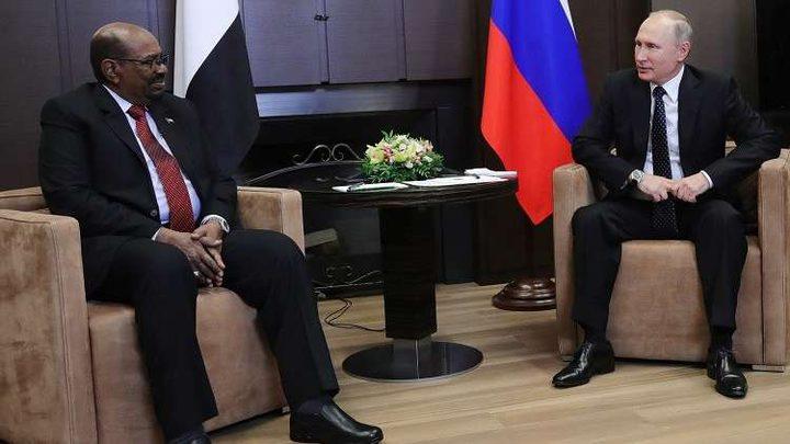 البشير في موسكو للقاء بوتين