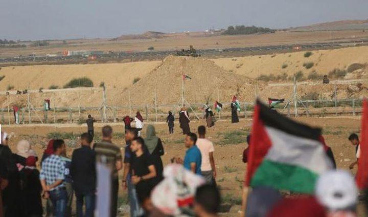 اصابة شاب بطلق ناري شرق غزة