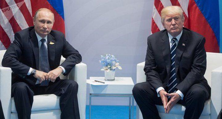 """روسيا تصف ترامب بـ """"الشريك"""""""