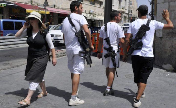 إسرائيل تسهّل تسليح المستوطنين