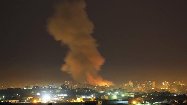غارات إسرائيلية على غزة والمقاومة ترد بالقصف