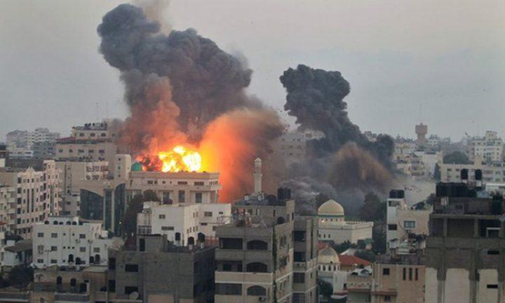 قوات الإحتلال تُصعّد من هجماتها ضد قطاع غزة