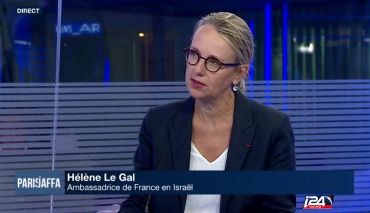 سفيرة فرنسا: سننقل سفارتنا بعد التوصل لاتفاق