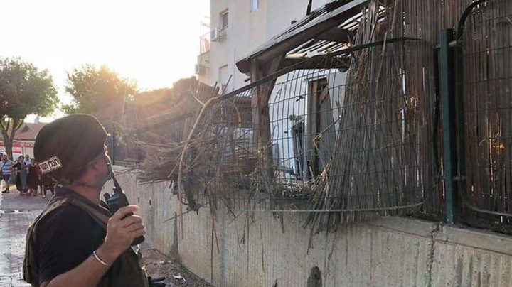 إصابة 3 مستوطنين بسقوط صواريخ على سديروت