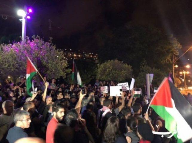 حيفا: دعوات للتظاهر نصرة لغزة ورفضاً لقصف الاحتلال
