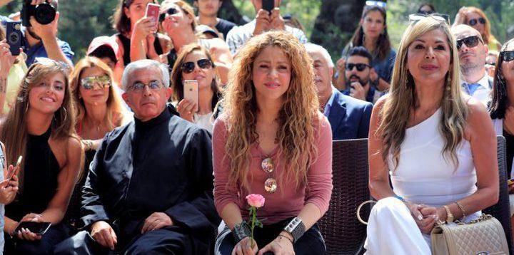 شاكيرا تغني في لبنان