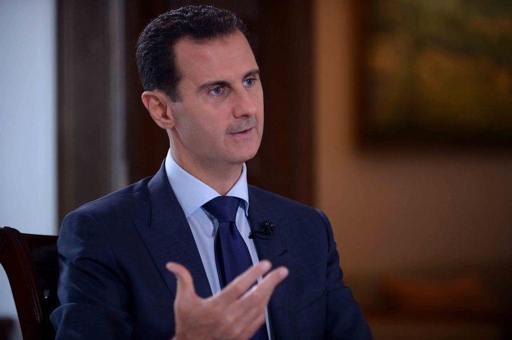 الأسد يعتبر الانجازات العسكرية تمهد لنتائج سياسية