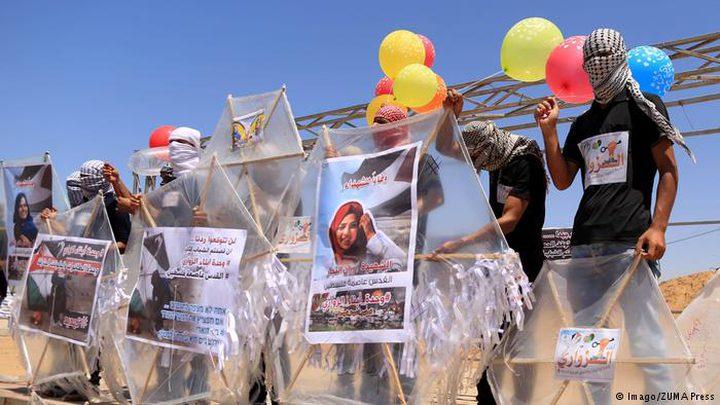 """نتنياهو : """"البالونات الحارقة"""" أحد شروط الهدنة"""