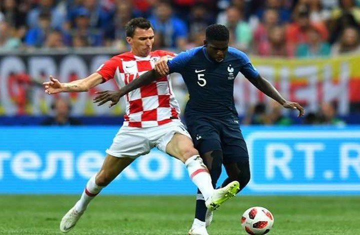 فرنسا تفوز بكأس العالم على حساب كرواتيا