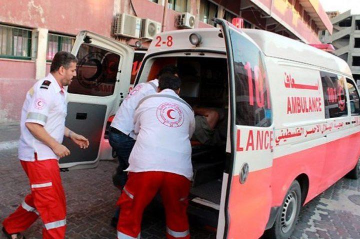 اصابة عامل بجروح خطيرة بعد سقوطه من بناية بنابلس
