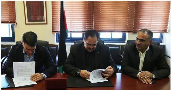 التربية والبنك الوطني يوقعان اتفاقية لدعم مشاريع ت