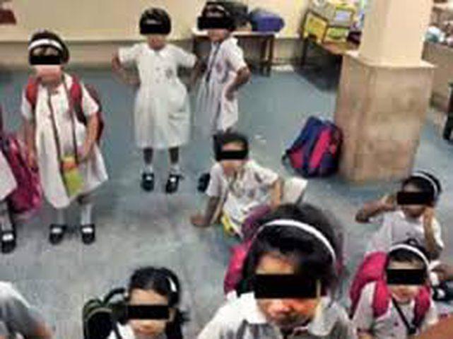 حبس أطفال في قبو مدرسة بسبب الأقساط!