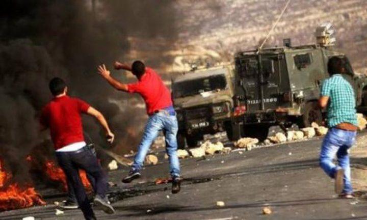 مواجهات مع الاحتلال في أبو شخيدم (صور)