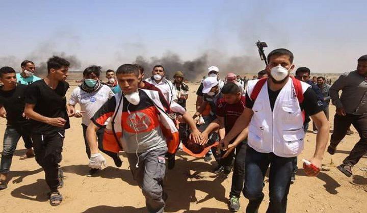 اصابات بقصف إسرائيلي شرق غزة