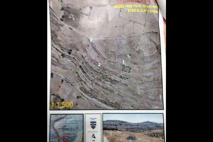 الاحتلال يستولي على 120 دونم من بلدة الخضر