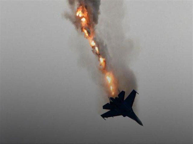 سانا: سقوط طائرة حربية مجهولة في ريف الحسكة