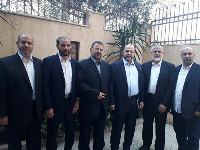 وفد حماس يصل غزة عقب انتهاء محادثات القاهرة