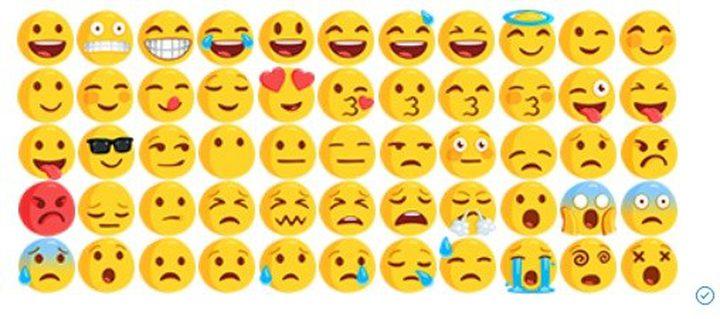"""""""دموع الفرح""""الرمز الأكثر استخداماً حول العالم"""