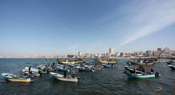تقليص مساحة الصيد في بحر غزة