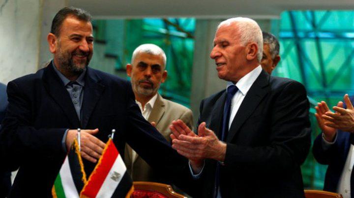 حماس توافق على الرؤية المصرية للمصالحة مع فتح